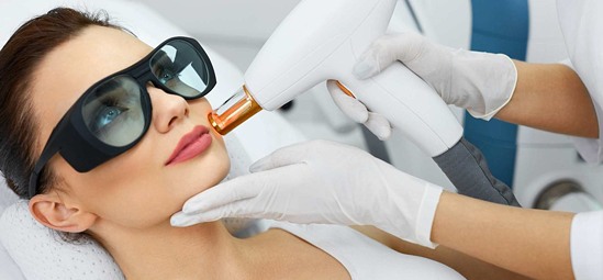 Resurfacing of Fractionated Skin with Laser Technology