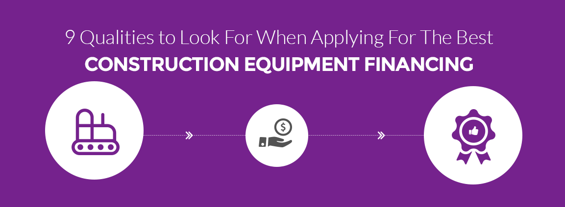 Applying For the Best Construction Equipment Financing