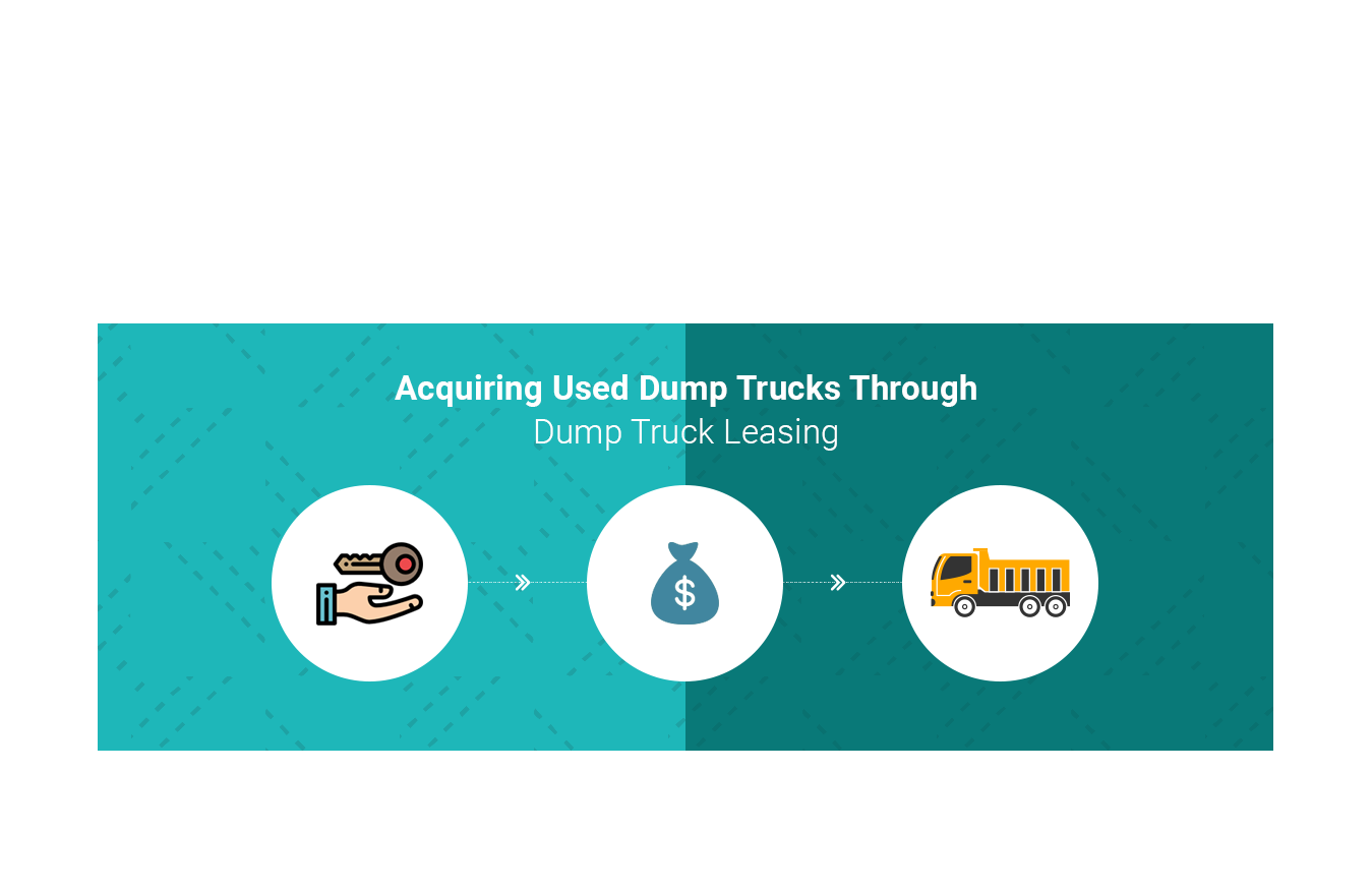 Acquiring Used Dump Trucks Through