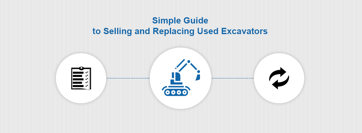 Simple Guide to Selling and Replacing Used Excavators