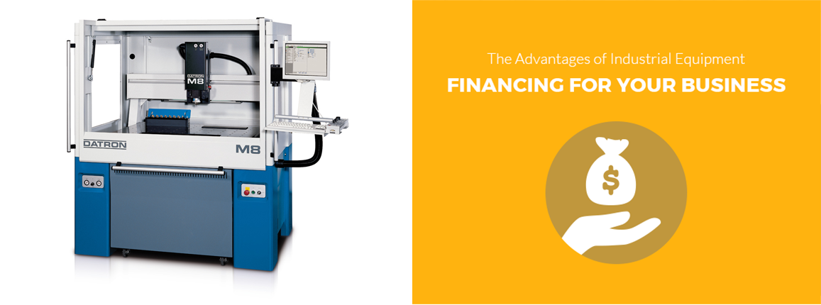 Advantages of Industrial Equipment Financing For Businesses
