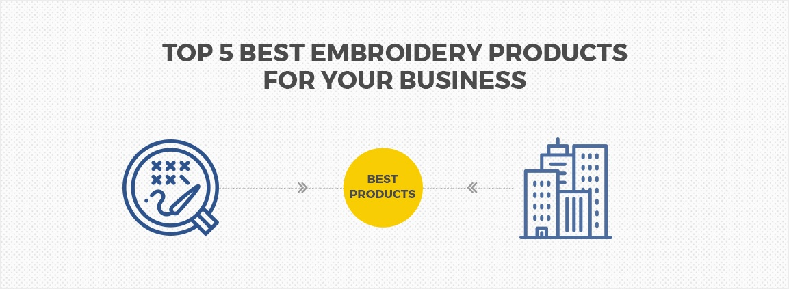 Top 5 Best Embroidery Products for Your Business