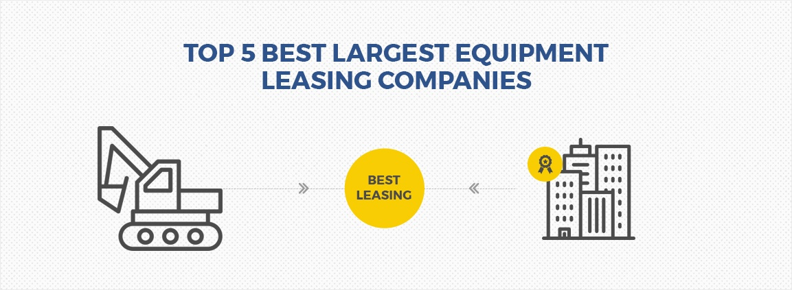 Top 5 Best Largest Equipment Leasing Companies