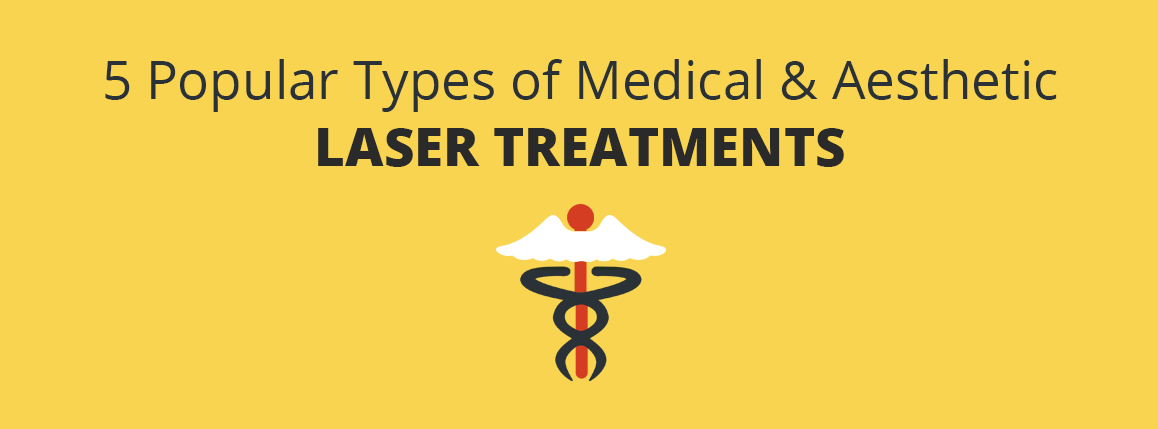5 Popular Types of Medical & Aesthetic Laser Treatments